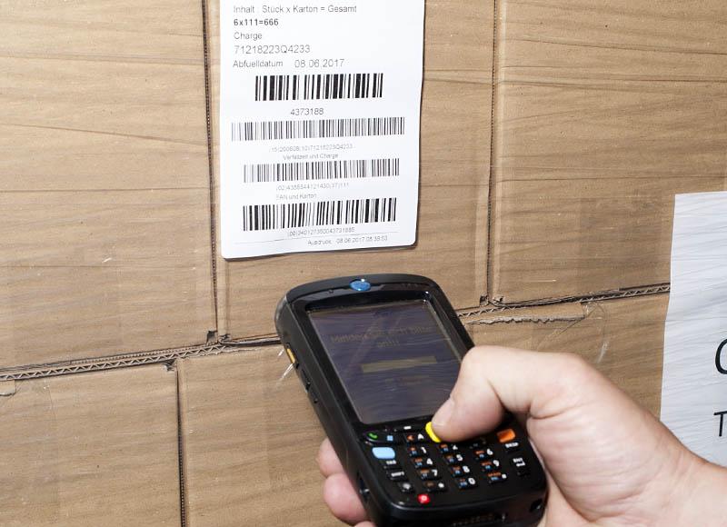 Etikettierung - Schoeller Industrielogistik - Logistikdienstleistung